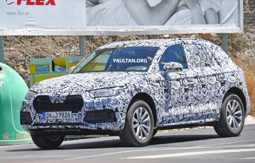 SPYSHOTS: 2017 Audi Q5 spotted testing in Spain Image #367107