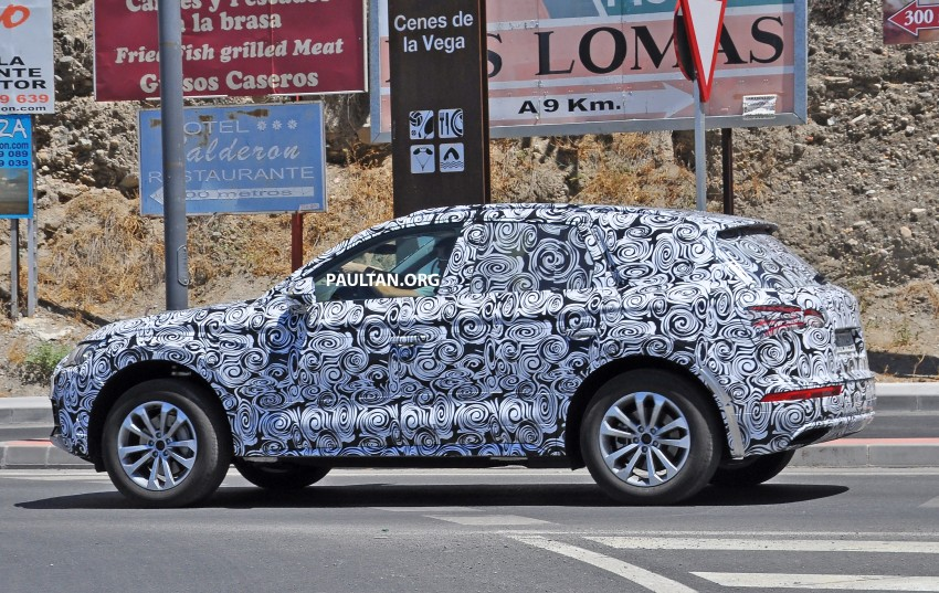 SPYSHOTS: 2017 Audi Q5 spotted testing in Spain Image #367109