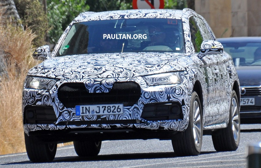 SPYSHOTS: 2017 Audi Q5 spotted testing in Spain Image #367111