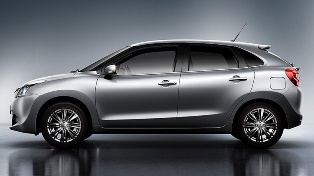 2016 suzuki baleno teased to debut at frankfurt show. Black Bedroom Furniture Sets. Home Design Ideas