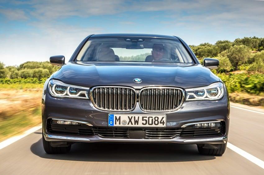 MEGA GALLERY: G11 BMW 7 Series in detail Image #372508