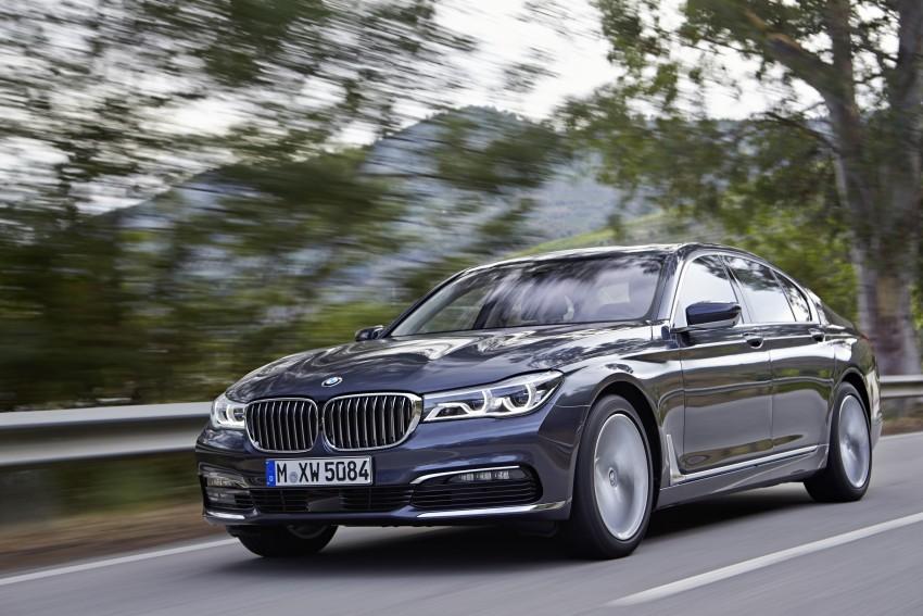 MEGA GALLERY: G11 BMW 7 Series in detail Image #372417