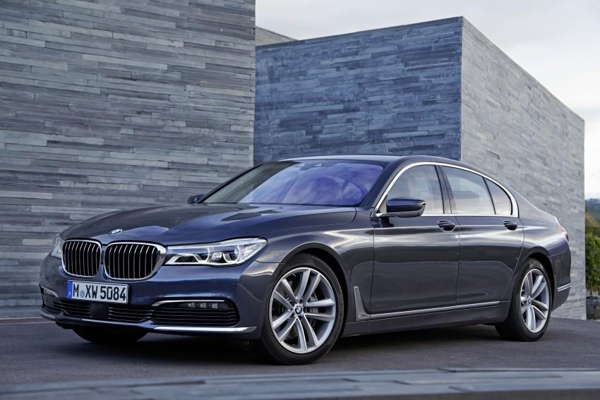 MEGA GALLERY: G11 BMW 7 Series in detail Image #372439