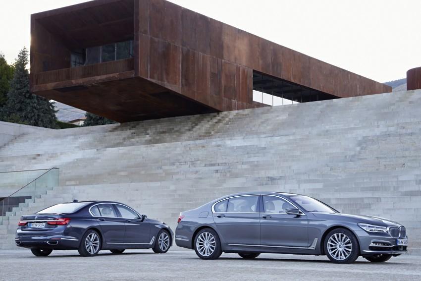 MEGA GALLERY: G11 BMW 7 Series in detail Image #372440