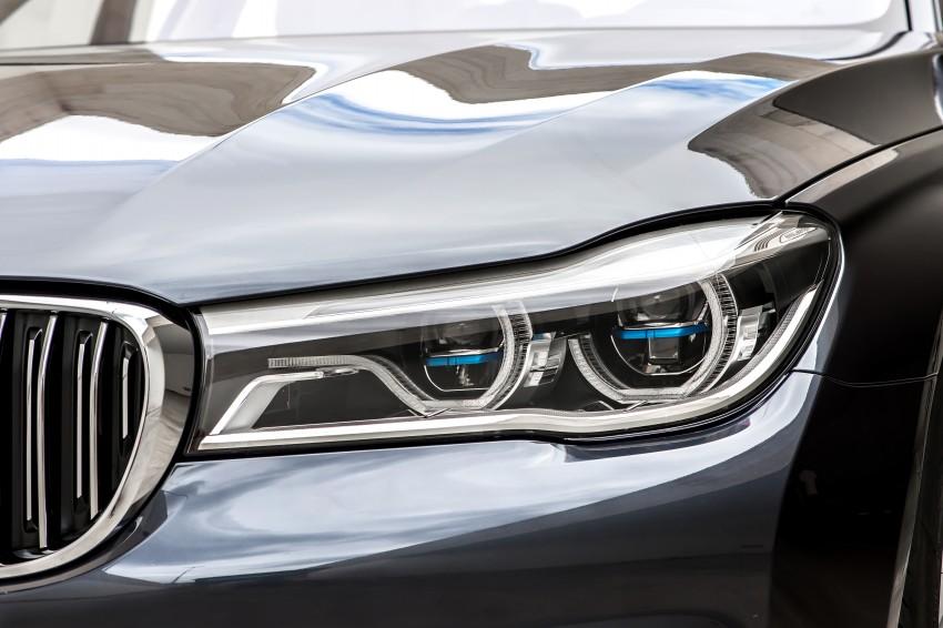 MEGA GALLERY: G11 BMW 7 Series in detail Image #372456