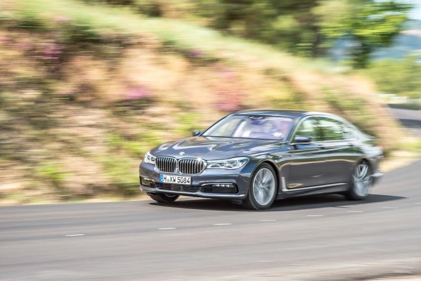MEGA GALLERY: G11 BMW 7 Series in detail Image #372498