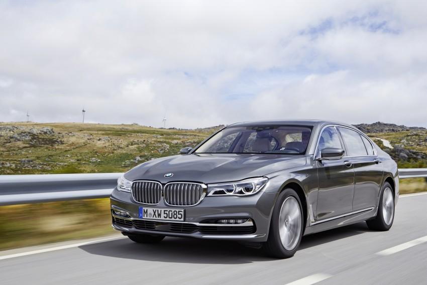 MEGA GALLERY: G11 BMW 7 Series in detail Image #372737