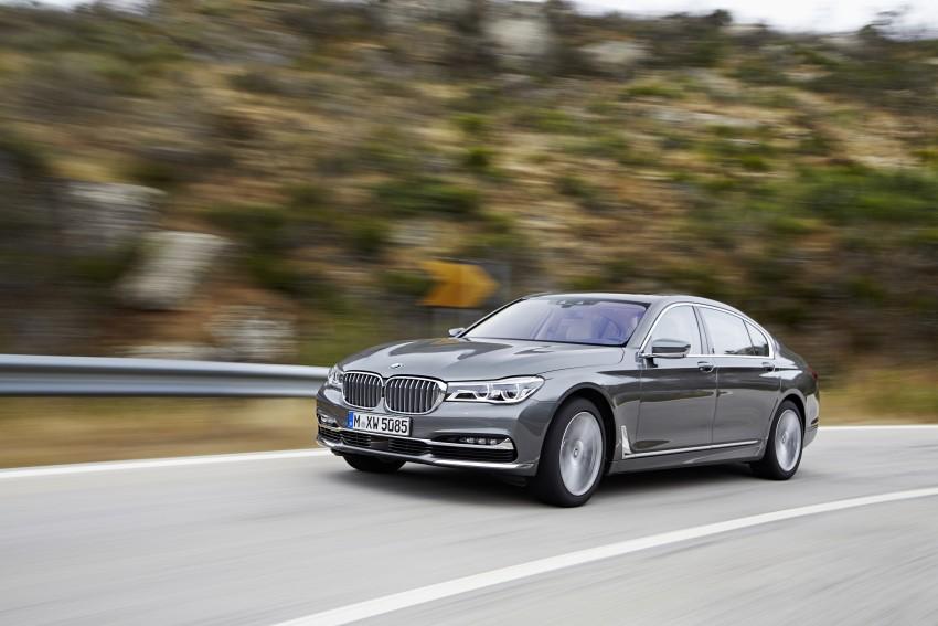 MEGA GALLERY: G11 BMW 7 Series in detail Image #372739
