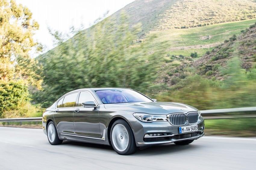 MEGA GALLERY: G11 BMW 7 Series in detail Image #372742