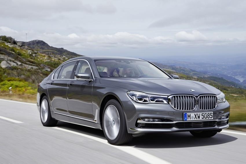 MEGA GALLERY: G11 BMW 7 Series in detail Image #372745