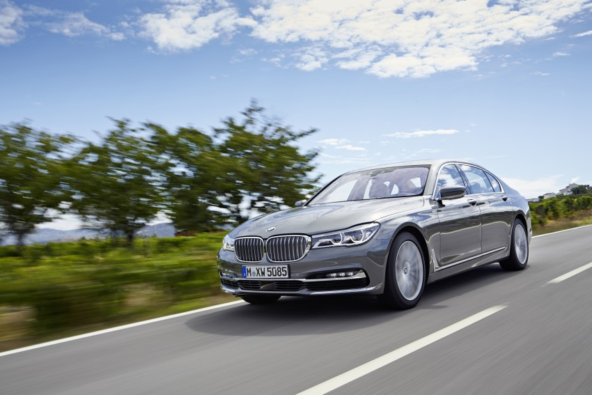 MEGA GALLERY: G11 BMW 7 Series in detail Image #372730