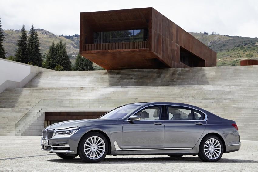 MEGA GALLERY: G11 BMW 7 Series in detail Image #372587