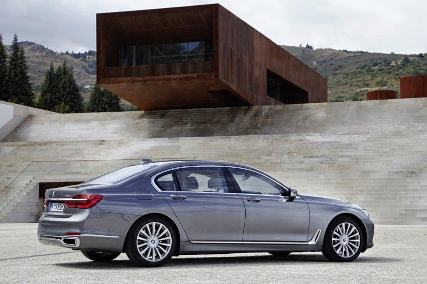 MEGA GALLERY: G11 BMW 7 Series in detail Image #372588