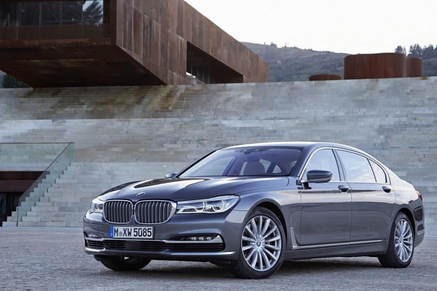 MEGA GALLERY: G11 BMW 7 Series in detail Image #372594