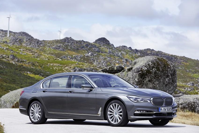 MEGA GALLERY: G11 BMW 7 Series in detail Image #372598