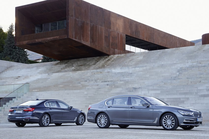MEGA GALLERY: G11 BMW 7 Series in detail Image #372604