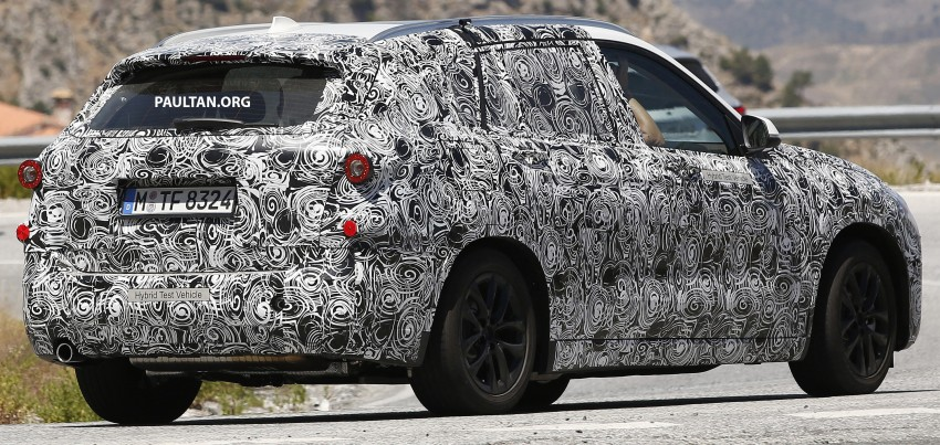 SPYSHOTS: BMW 1 Series Sport Cross captured Image #364545