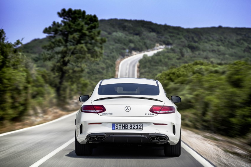 Mercedes-AMG C 63 Coupe debuts with up to 510 hp Image #369071