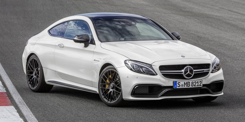 Mercedes-AMG C 63 Coupe debuts with up to 510 hp Image #369085