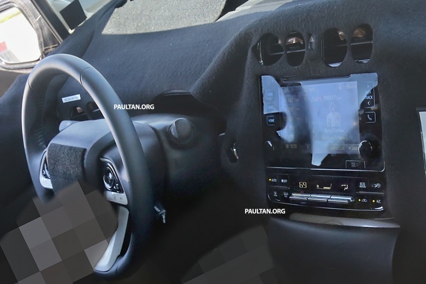 SPIED: 2016 Toyota Prius shows interior for first time! Image #367268