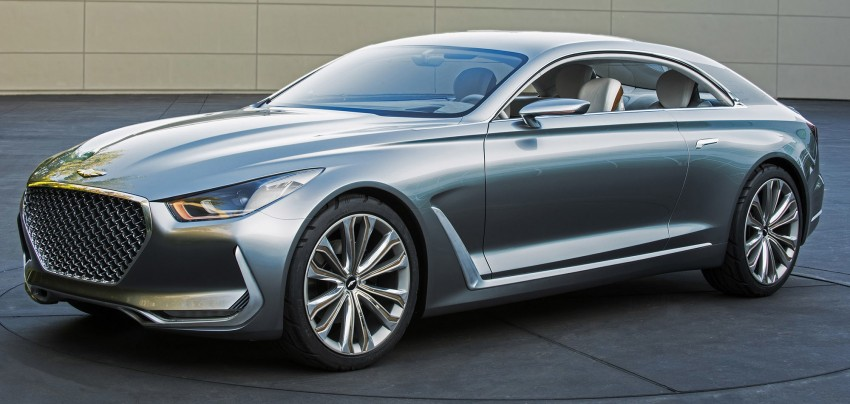 Hyundai Vision G Coupe Concept officially revealed Image #366630