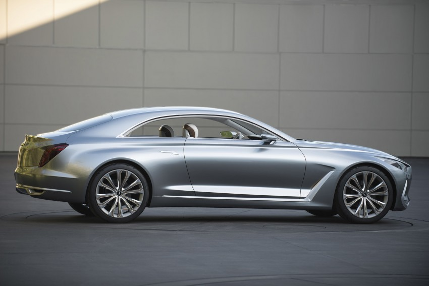 Hyundai Vision G Coupe Concept officially revealed Image #366631