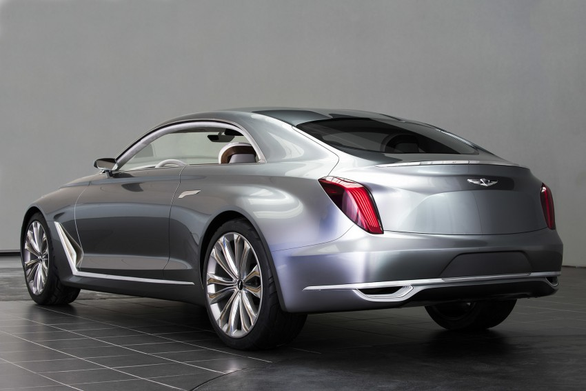 Hyundai Vision G Coupe Concept officially revealed Image #366632