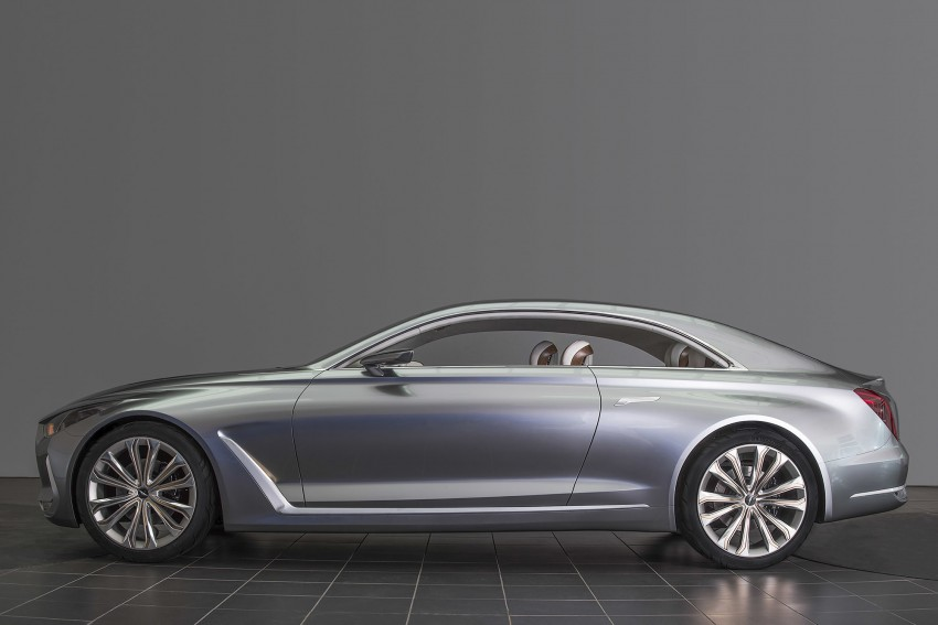 Hyundai Vision G Coupe Concept officially revealed Image #366633