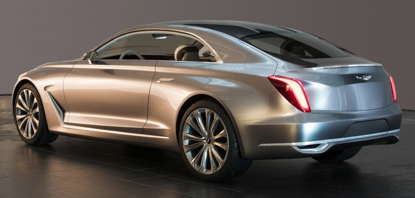 Hyundai Vision G Coupe Concept officially revealed Image #366634