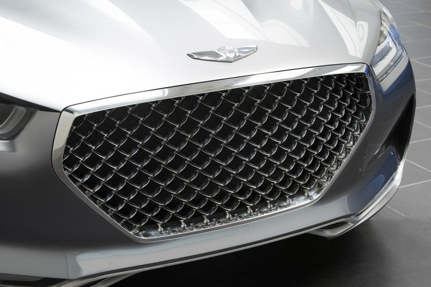 Hyundai Vision G Coupe Concept officially revealed Image #366637