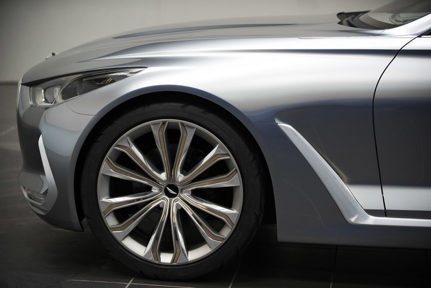 Hyundai Vision G Coupe Concept officially revealed Image #366639
