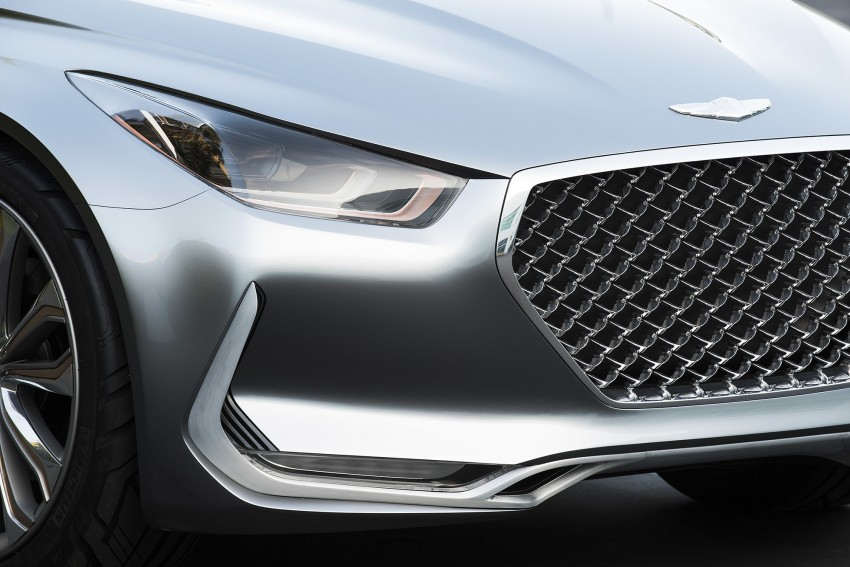 Hyundai Vision G Coupe Concept officially revealed Image #366640