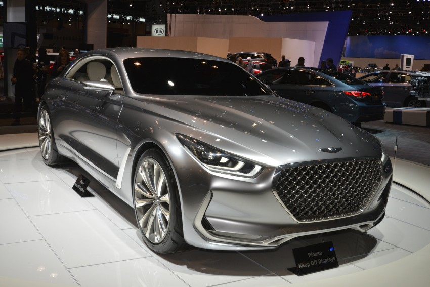 Hyundai Vision G Coupe Concept officially revealed Image #440598