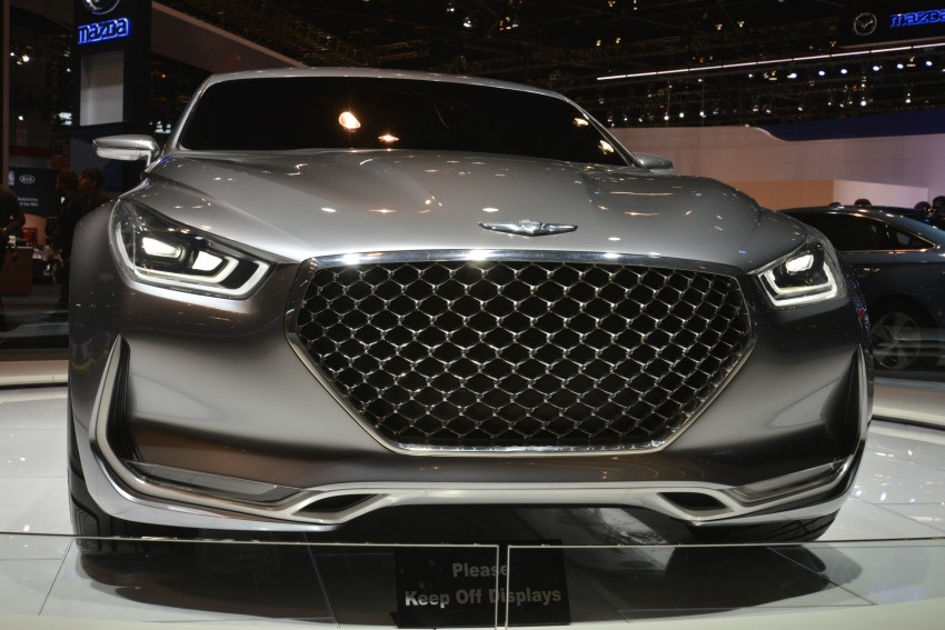 Hyundai Vision G Coupe Concept officially revealed Image #440599
