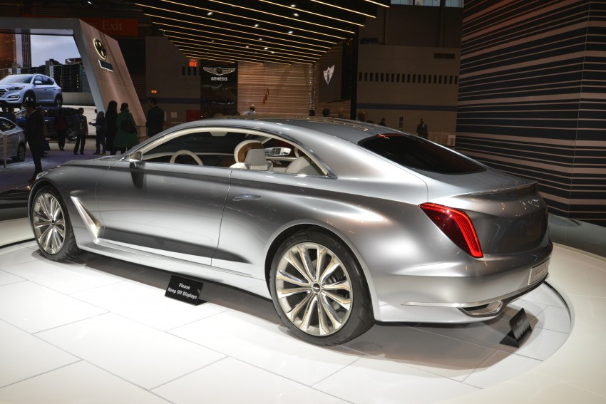Hyundai Vision G Coupe Concept officially revealed Image #440601