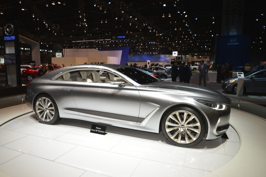Hyundai Vision G Coupe Concept officially revealed Image #440602