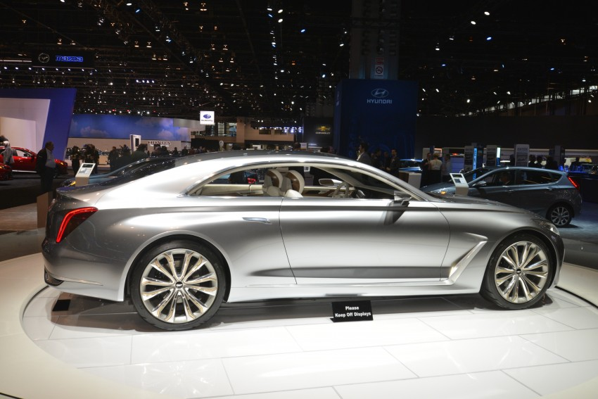 Hyundai Vision G Coupe Concept officially revealed Image #440603