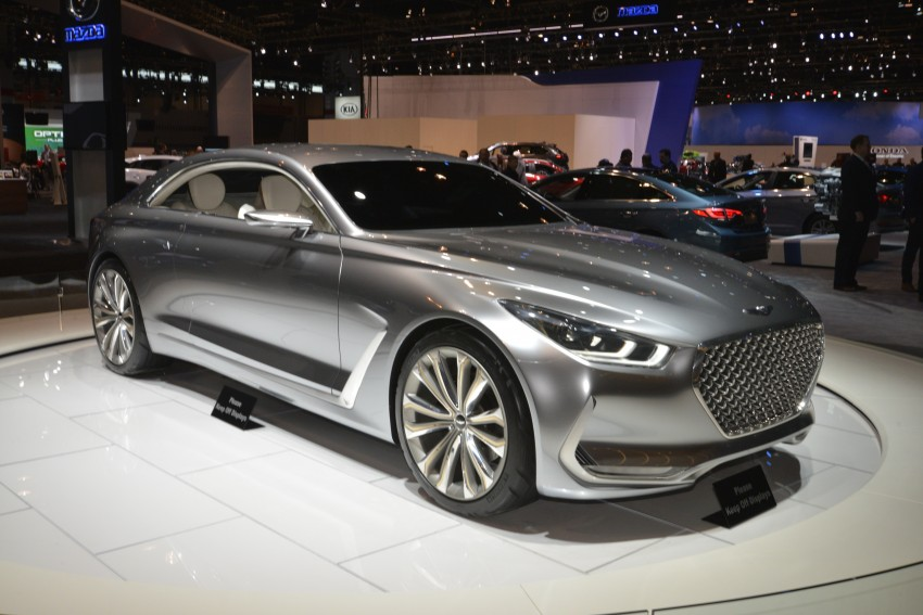Hyundai Vision G Coupe Concept officially revealed Image #440605