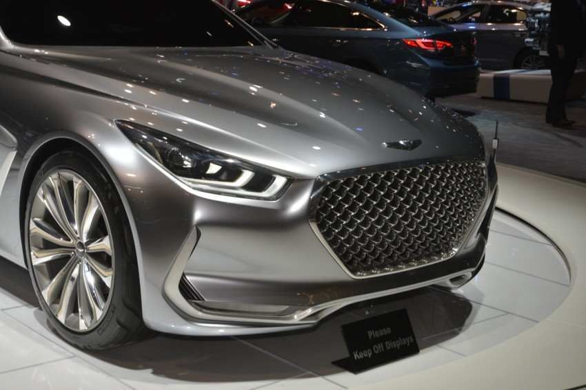 Hyundai Vision G Coupe Concept officially revealed Image #440606