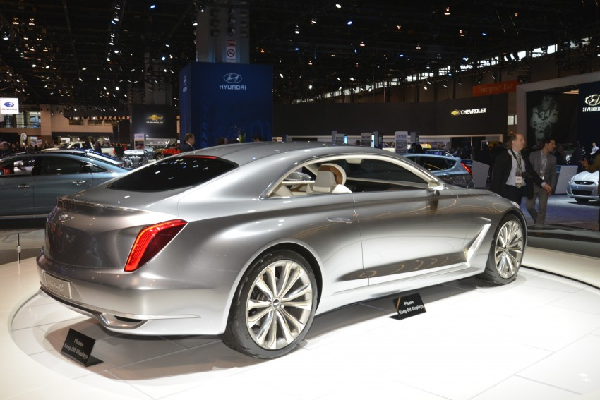 Hyundai Vision G Coupe Concept officially revealed Image #440607