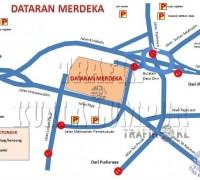 kl road closure merdeka