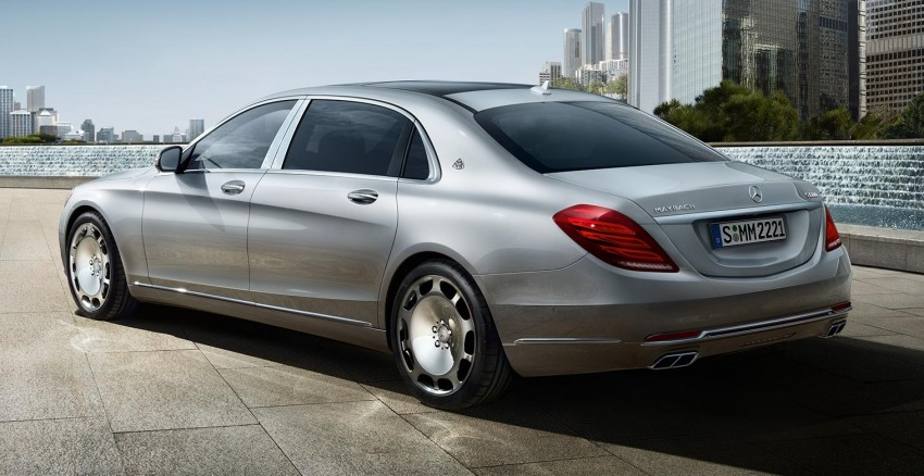 Maybach name returns to Thailand with launch of S500 Image #365551