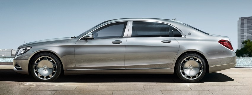 Maybach name returns to Thailand with launch of S500 Image #365550