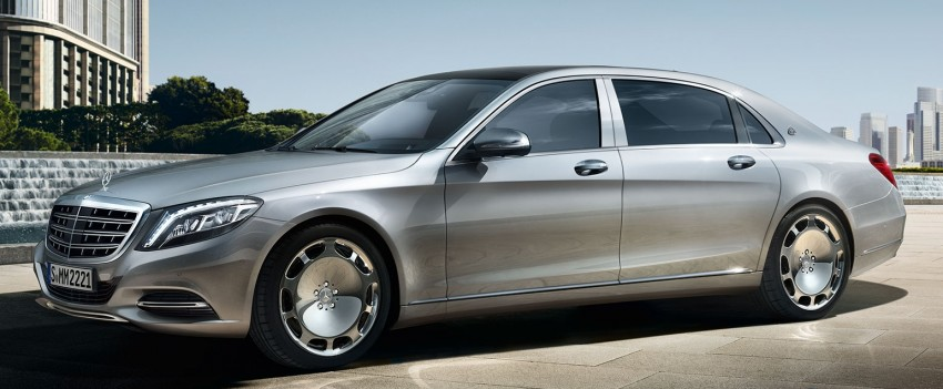 Maybach name returns to Thailand with launch of S500 Image #365552