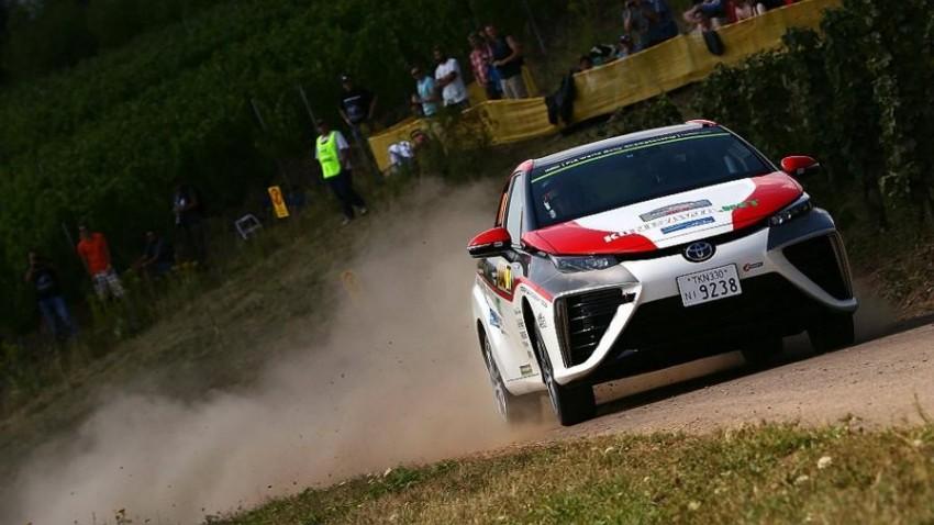Toyota Mirai FCV goes rallying at WRC Germany Image #370034