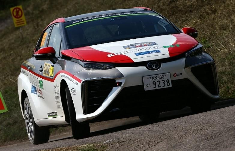 Toyota Mirai FCV goes rallying at WRC Germany Image #370036