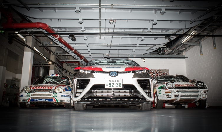 Toyota Mirai FCV goes rallying at WRC Germany Image #370038