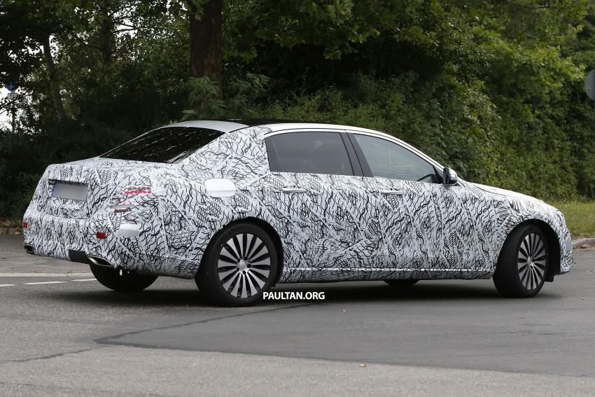 SPYSHOTS: W213 Mercedes-Benz E-Class long wheelbase, will China get a Maybach E-Class? Image #369788