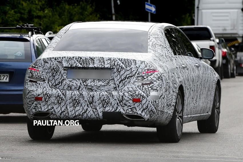 SPYSHOTS: W213 Mercedes-Benz E-Class long wheelbase, will China get a Maybach E-Class? Image #369790