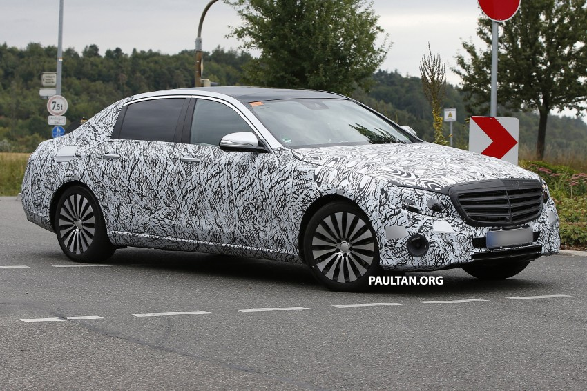 SPYSHOTS: W213 Mercedes-Benz E-Class long wheelbase, will China get a Maybach E-Class? Image #369798
